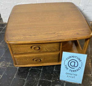Ercol Pandora Coffee Table in Golden Dawn Model 735 Produced 1980's - 1990's