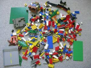LEGO: Job Lot Of Mixed Bricks/Bases/Wheels etc.