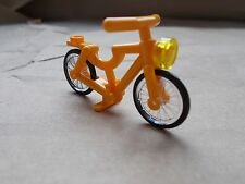 NEW LEGO YELLOW BICYCLE BIKE PEDAL BIKE FRIENDS HOUSE CITY THE LEGO MOVIE POLICE
