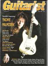 (M) GUITARIST MAGAZINE 1988 AUG - BRUCE WELCH, JOHN MCLAUGHLIN, CHUCK RAINEY