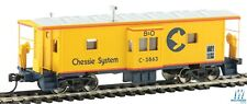 HO Scale WALTHERS Mainline 910-8651 BALTIMORE & OHIO  CHESSIE Bay Window Caboose
