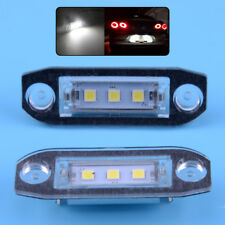 2x LED Number License Plate Light Lamp Fit for Volvo S80 S60 C70 V70 XC90 XC60