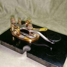 Vintage EF Johnson 114-100-4 Telegraph Morse Code Key