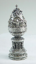 The Last Supper Sterling Silver Egg