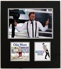 Olly Murs Signed & Framed CD Cover Genuine SIgnature AFTAL COA