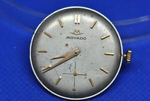 Original MOVADO cal 125 manual winding movement & dial (1c/6008)