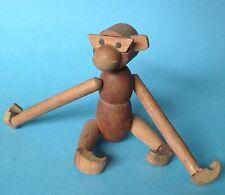 Anelli legno Scimmia SCIMMIA LEGNO 18cm Danish design progettazione Kay Bojesen Danimarca ~ 1970