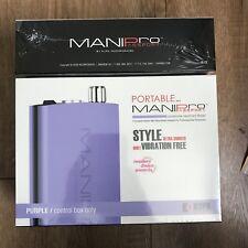 Kupa ManiPro Passport PURPLE Portable Nail File Drill 110v - 220v Mani Pro
