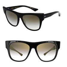 DITA Sunglasses Women Cat Eye Black ARRIFANA 22022A Authentic Grey Gradient New