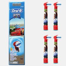 Oral-B Kids Stages Power Electric Toothbrush Replacement Head(EB10) 4p For Boys