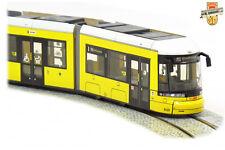 TRAM BOMBARDIER GT8-11 ZRL FLEXITY - Tramway de Berlin BVG 9000 - 1/87 HO LH MDL