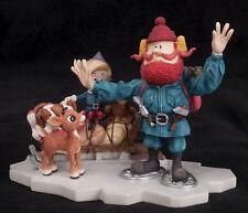 2001 Enesco Figurine Good Friends Yukon Rudolph Island of Misfit Toys 875309