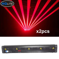 8 Head 500mw red laser Moving Head Bar Laser Light DJ Stage Lighting beam light