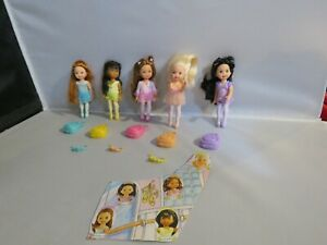 Barbie Mattel Kelly Club 5 Ballet Bunch Doll Set