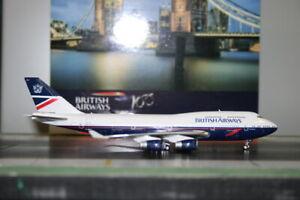 """Phoenix 1:400 British Airways Boeing 747-400 G-BNLY """"Retro - Landor"""" (04266)"""