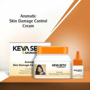 Keya Seth Aromatherapy,Skin Damage Control Cream Serum Repairs Skin Damage, 45gm