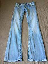 "Women's Rock Revival ""Serena Boot"" Boot Cut Jeans Size 27"
