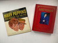 Mary Poppins Theatrical Souvenir Book and Walt Disney Vinyl LP Record 1964 set