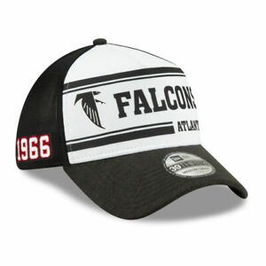 Atlanta Falcons NFL On-Field Player Sideline Home 39THIRTY Fitted Hat Cap 1966 A