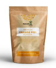 Premium Orange Peel Powder - Face Cleansing | Cosmetic & Food Grade | Oily Hair