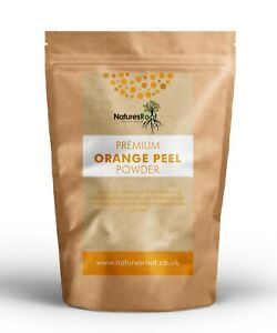 Premium Orange Peel Powder - Face Cleansing | Cosmetic & Food Grade | Oily Hair