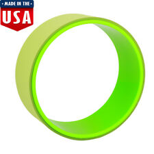 Resistance Band Yoga Pilates Abs Exercise Fitness Tube Workout Wheel Green
