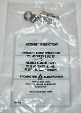New - Qty (25) Trompeter TAI-119 Wrench Crimp Connectors