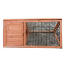 New Triangle Rabbit Hutch Ferret Run Guinea Pig Cage T032 PICK UP only