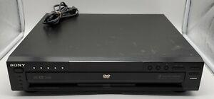 Sony 5 Disc DVD/CD Changer MP3 Player Cinema DVP-NC665P - NO REMOTE - WORKS!