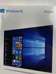 Microsoft Windows 10 HOME 32/64 Bit USB Flash Drive and Key Card.