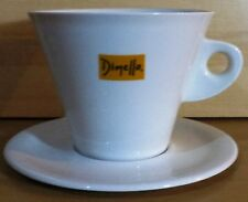 VHTF DIMELLO ESPRESSO ADVERTISIGN CERAMIC CUP WITH PLATE 9'' INCHES