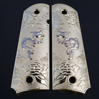 1911 Grips For Kimber / Colt / ROCK ISLAND Frames Dragon 1911 Full Size Grips