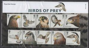 2019  Birds of Prey Presentation Pack 569   - Ref:5609