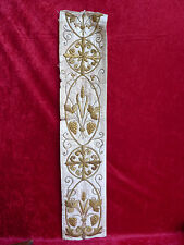 Beautiful,Antique Wall Hanging__Embroidered Scarf __ Golborbüre__111cm__around