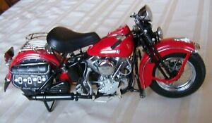The 1948 Harley-Davidson Panhead Road Rally Editi Franklin Mint Precision Models