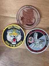 USAF patch set 3 3 RAF Lakenheath patches F-15E 494 FS EFS See other sets