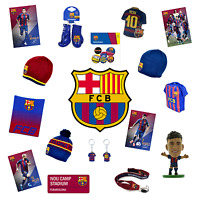 FC BARCELONA OFFICIALLY LICENSED GIFT & APPAREL COLLECTION CHOOSE FROM 20+ ITEMS