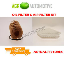 DIESEL SERVICE KIT OIL AIR FILTER FOR TOYOTA AVENSIS 2.0 124 BHP 2011-