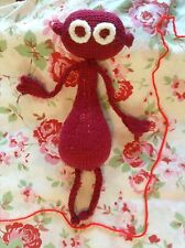 ***KNITTING PATTERN ONLY****. PATTERN IS FOR DIP DAP LOOK A LIKE CBEEBIES