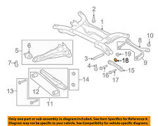 MITSUBISHI OEM 08-17 Lancer Rear Suspension-Lateral Arm Plate MN184102