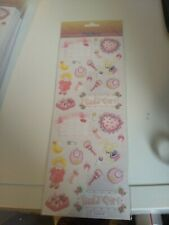 STICKERS FOR MAKE CARDS// NEW 28X12 CM LACE BORDERS ROSES