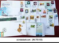 INDIA - COLLECTION OF SPECIAL COVERS - 25 nos - All Different