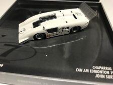 Minichamps John Surtees 1969 Chaparral 2H Edmonton Can-Am Box 1:43 MIB •