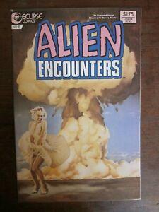Alien Encounters #8 - Marilyn Monroe, nuclear bomb - Eclipse - science fiction
