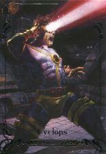Marvel Masterpieces 2018 Tier 3 Base Card [999] 66 Cyclops