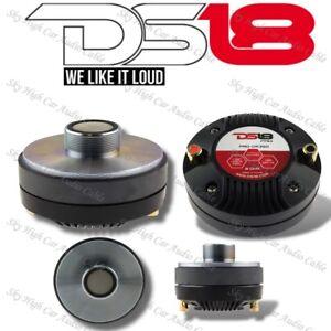 "DS18 PRO DR350 1.35"" Inch VC Titanium Compression Driver Tweeter 400 Watts Max"