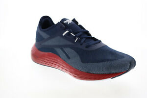Reebok Flashfilm 3.0 G57587 Mens Blue Canvas Lace Up Athletic Running Shoes