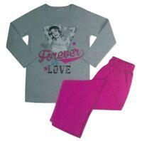 Disney Violetta Mädchen Schlafanzug/Pyjama langarm T-Shirt + Hose Größe 122/128