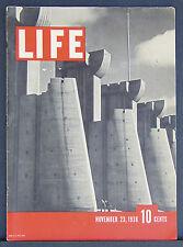Rare Issue #1, First Edition Life Magazine November 23, 1936 Very Fine