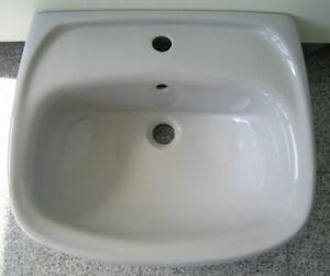 NOVO-BOCH Waschbecken Waschtisch MANHATTAN-GRAU 60 cm